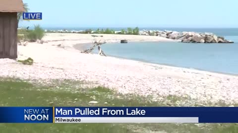 Man pulled from water near McKinley Marina in Milwaukee