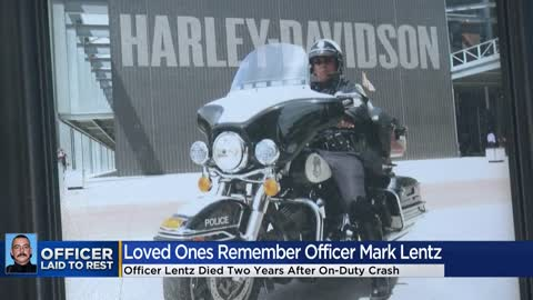 Milwaukee Police Officer Mark Lentz honored at funeral
