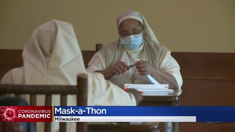 St. Ann Center for Intergenerational Care holds mask-a-thon
