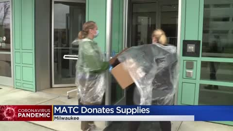 MATC donates protective medical gear to 6 area health care facilities