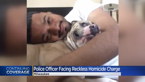 'I didn't suffocate the guy:' Milwaukee police officer charged in 25-year-old man's death