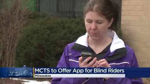 MCTS introduces new app to help riders who are visually impaired