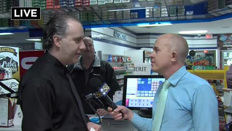 Pewaukee gas station busy ahead of Mega Millions drawing