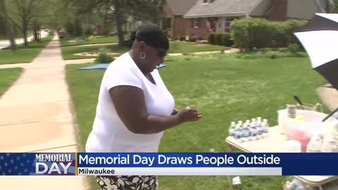 Milwaukee County residents head outdoors for Memorial Day activities