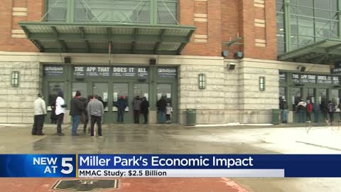 Miller Park has generated $2.5 billion in net economic impact