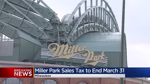 Board votes to end Miller Park sales tax March 31