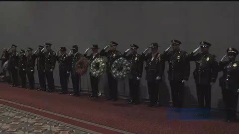 Milwaukee Law Enforcement honored with wreath laying