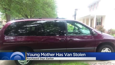 'I need it for my son': Van stolen from young mother on Milwaukee's northwest side