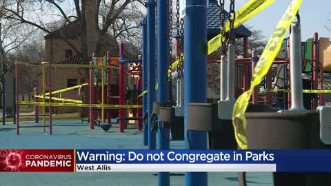 Parks, playgrounds closed in Milwaukee Co. to help enforce social...