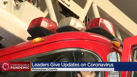 Milwaukee Co. first responders work to preserve resources during COVID-19 pandemic
