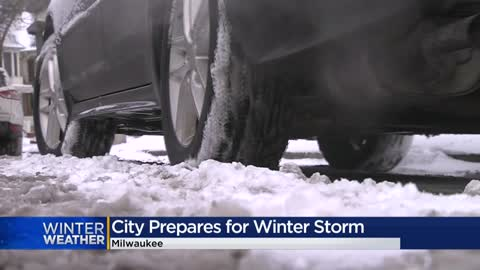 City of Milwaukee prepares for weekend winter storm