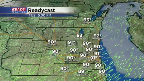Hottest Day of Season Arrives Tuesday - Let's Talk 90s