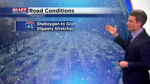 Snow ending for many locations but lingers within the advisory.