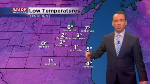 Next chance for wintry precipitation arrives Wednesday night
