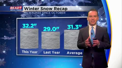 After snowy Sunday, another round of snow this week followed by coldest air in months