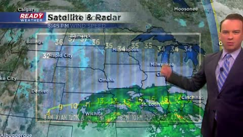 Storm track shifts south; less snow expected Tuesday and Wednesday