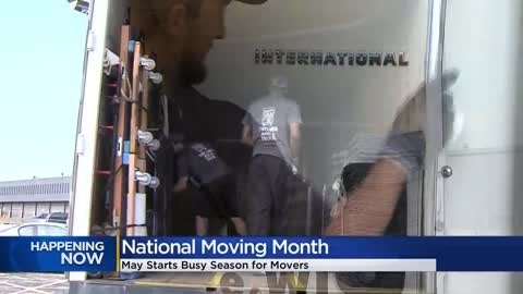 May marks the time to highlight moving and movers (especially...