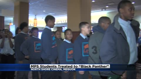 MPS students see 'Black Panther'