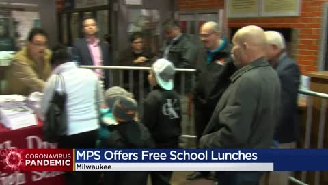 MPS begins distributing grab-and-go lunches for students during coronavirus closure