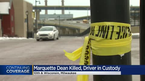 Students raise concerns about pedestrian safety after Marquette dean killed in crash