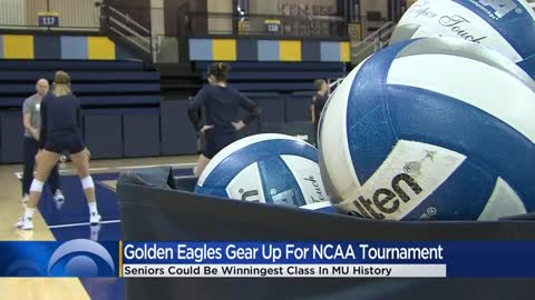 MU Golden Eagles volleyball team gears up for NCAA Tournament