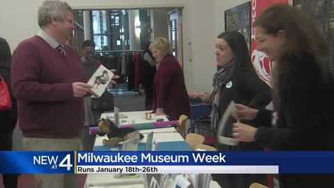 Second annual Milwaukee Museum Week kicks off Jan. 18