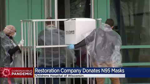Milwaukee remodeling company donates 200 N95 masks to Children's...