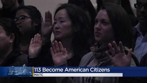 MATC hosts naturalization ceremony for 113 new US citizens