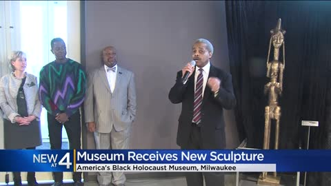 America's Black Holocaust Museum unveils new sculpture