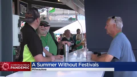 Summer like no other: Number of large events canceled in Milwaukee due to COVID-19