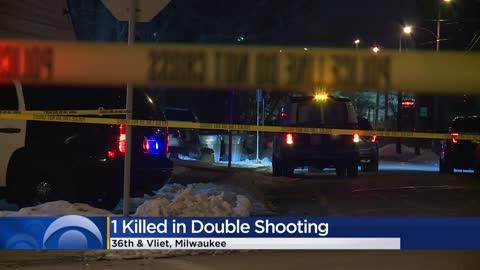 One person killed in double shooting near 36th and Vliet in Milwaukee