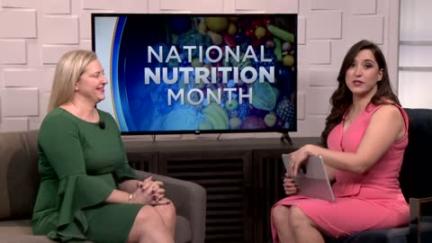 Local Dietitian provides tips for National Nutrition Month