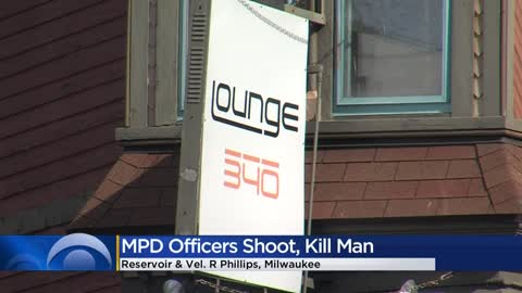 49-year-old suspect fatally shot by Milwaukee police officers near Reservoir and Vel. R. Phillips