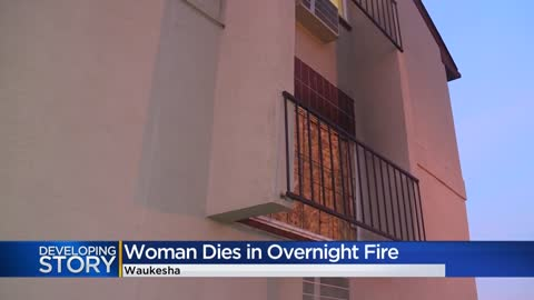 One person dead following apartment fire in Waukesha