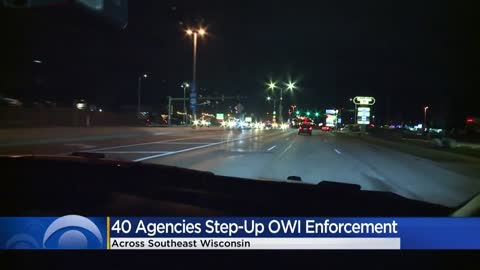 Police step up OWI enforcement ahead of Thanksgiving weekend