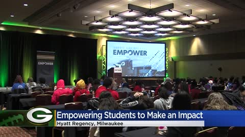 Green Bay Packers host 'Empower' leadership event for MPS students