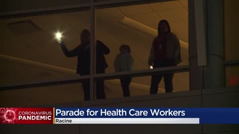Racine community shows appreciation for health care workers with...