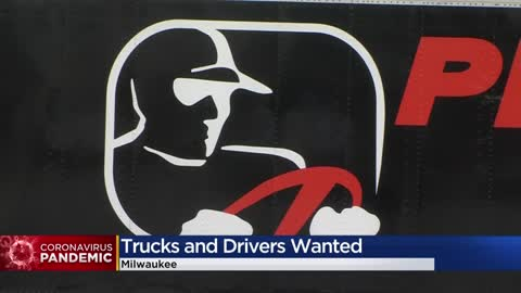 Milwaukee trucking companies in desperate need of drivers: 'Without the trucks, nothing happens'