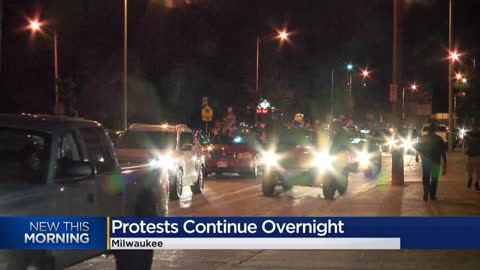 """This is just the beginning:"" Peaceful protests carry into..."