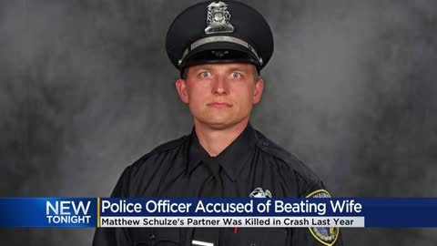 Partner of fallen Milwaukee police officer faces charges of domestic abuse