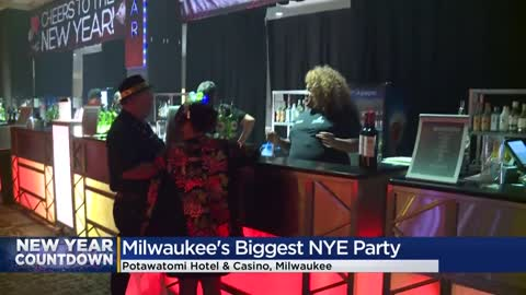 Party-goers ring in the new year at Potawatomi Hotel & Casino