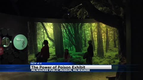 'The Power of Poison' opens Saturday at the Milwaukee Public Museum