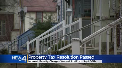 Common Council passes property tax resolution waiving interest,...