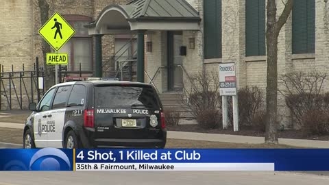 Quadruple shooting at Milwaukee club near 35th and Fairmount leaves 1 man dead