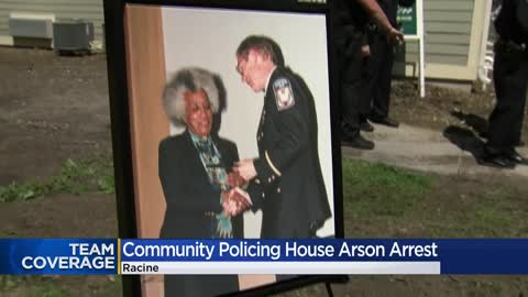 Arrest made in connection to arson of Racine's Thelma Orr COP...