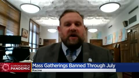 City of Racine bans all mass gatherings through July 31