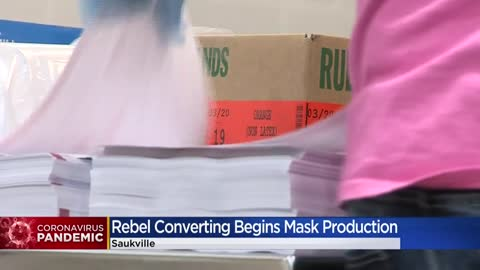 Saukville company Rebel Converting donating kits to help make...