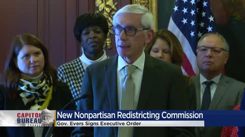 Evers' executive order establishes nonpartisan redistricting commission