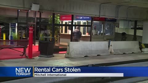 Deputies investigate theft of 17 rental vehicles from Mitchell International Airport