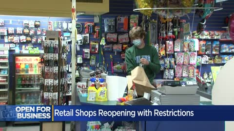 Some stores reopen easily with restrictions, while others face challenges